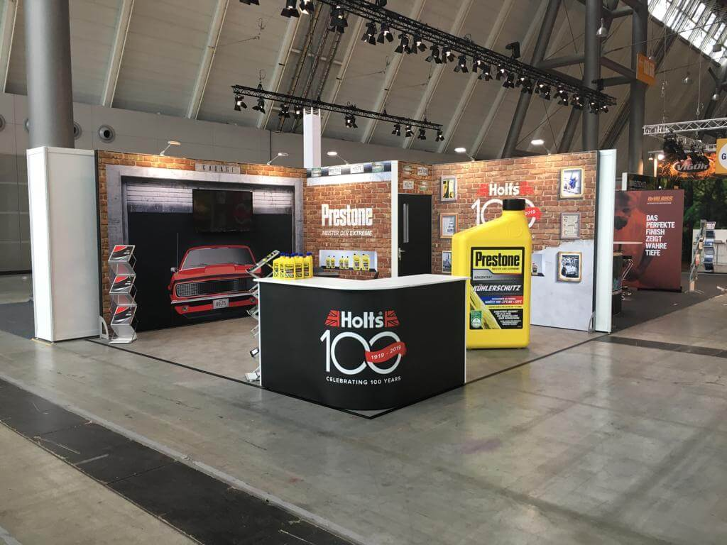 Holt Modular Exhibition Solution at trade show