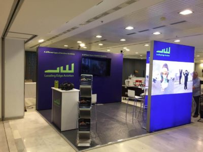 leading Edge Exhibition Display Stand Layout