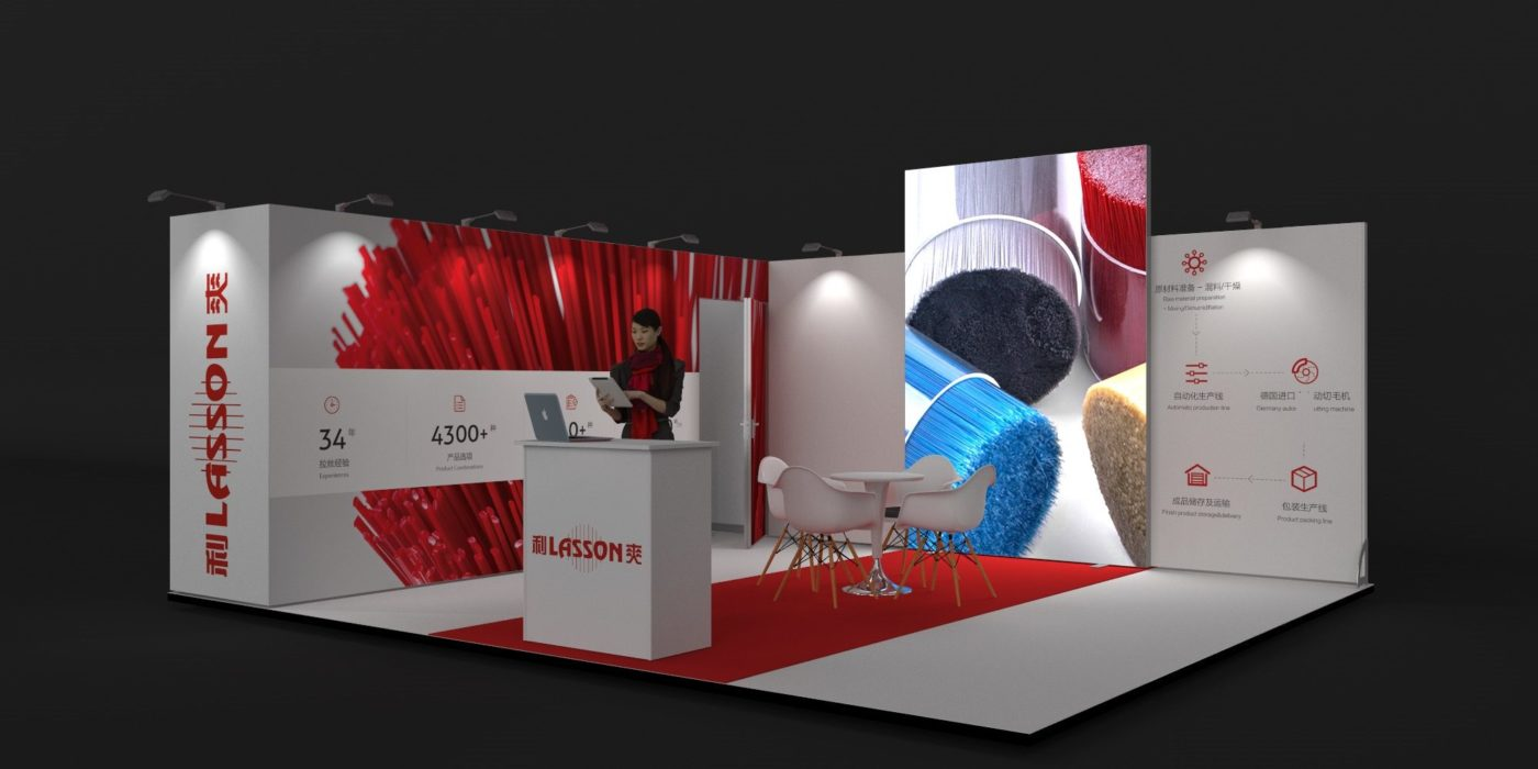 6x5m Exhibition Stand with Large Storage Area View 2