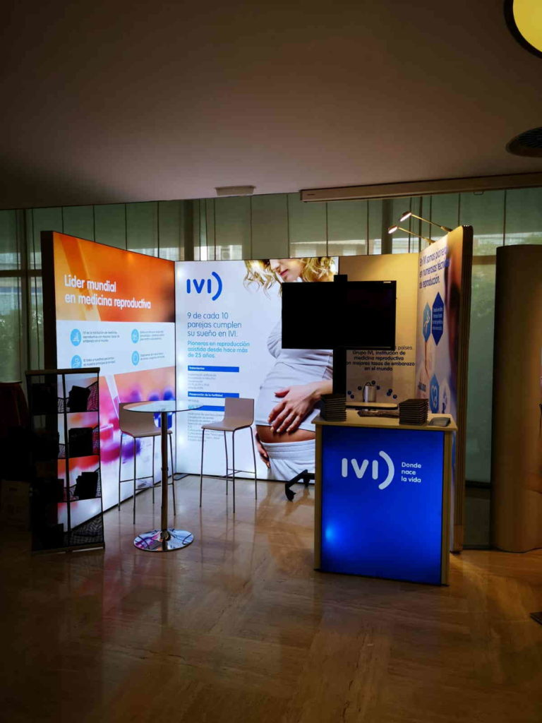 IVI Backlit Display Stand