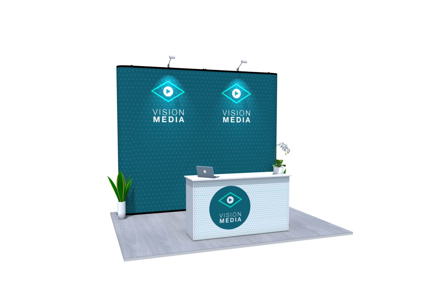 7x4m Nomadic Instand Pop Up Exhibition Stand 2