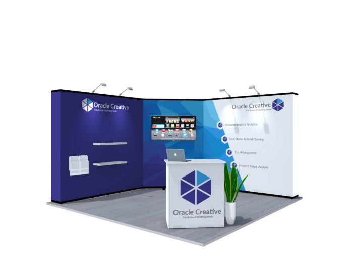 4x4m Nomadic Instand Pop Up Exhibition Stand